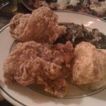 #1 – FRIED CHICKEN AND BISCUITS at ROBERTA'S PIZZA