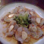 #14 – RAW SHRIMP SALAD at AYADA