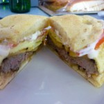 #7 – EGG-SAUSAGE SANDWICH at M. WELLS