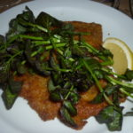 #45 – PORK MILANESE at ROMAN'S