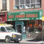IT'S NOT THE SIZE THAT COUNTS (Hot Jumbo Bagels)
