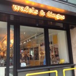 DISH OF THE WEEK:  2nd Street Salmon Waffle at WAFELS & DINGES