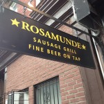 LET'S DEFINE A HOT DOG (Rosamunde Sausage Grill)