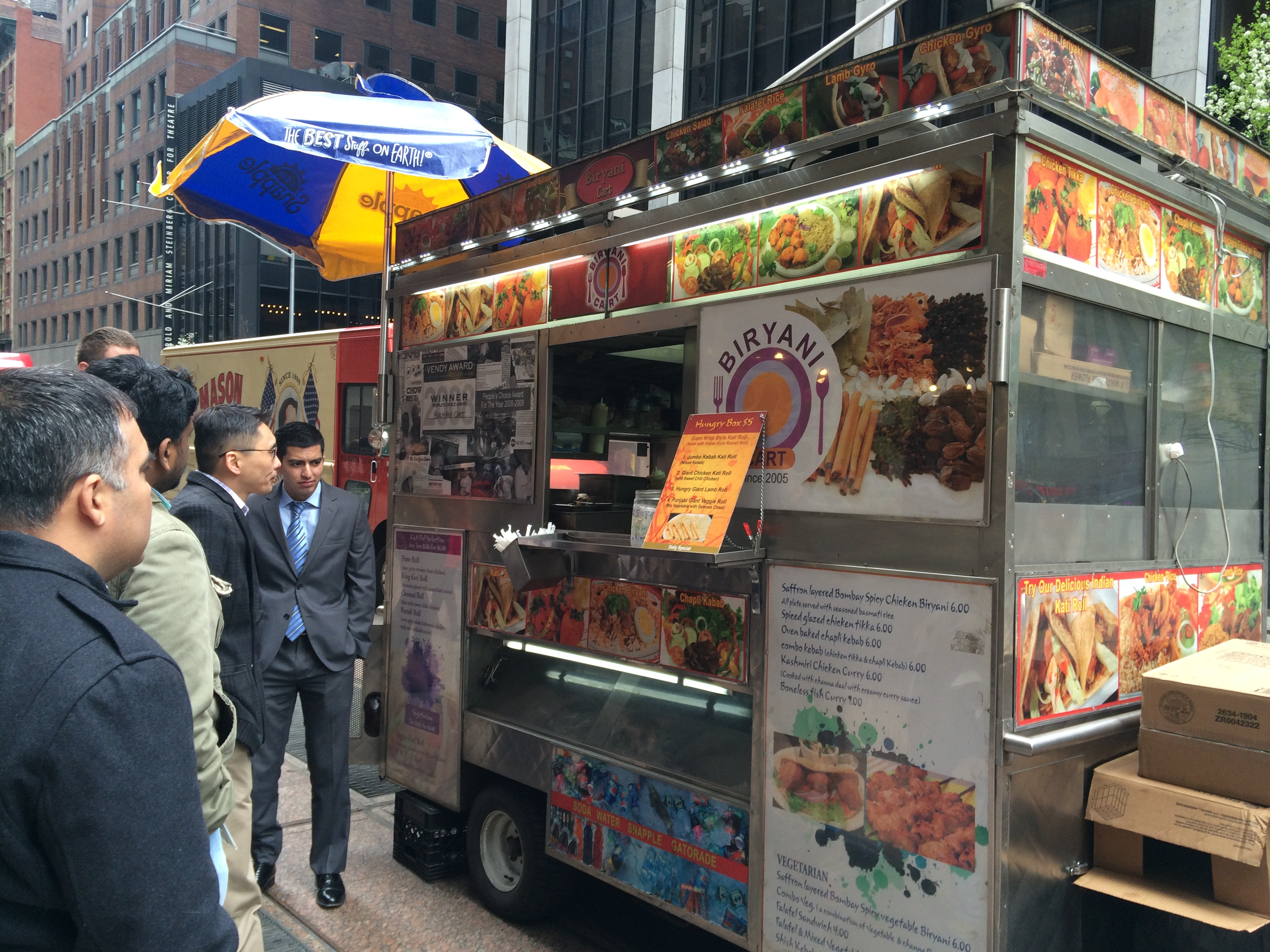 Biriyani Cart | Midtown Lunch - Finding Lunch in the Food ...