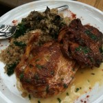 DISH OF THE WEEK: Achiote Roasted Chicken at COLONIA VERDE