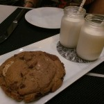 DISH OF THE WEEK: Triple Chocolate Chunk Cookie with Milk at UNTITLED