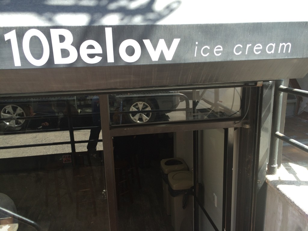 10 BELOW ICE CREAM, 10 Mott Street (between Worth Street and Pell Street), Chinatown