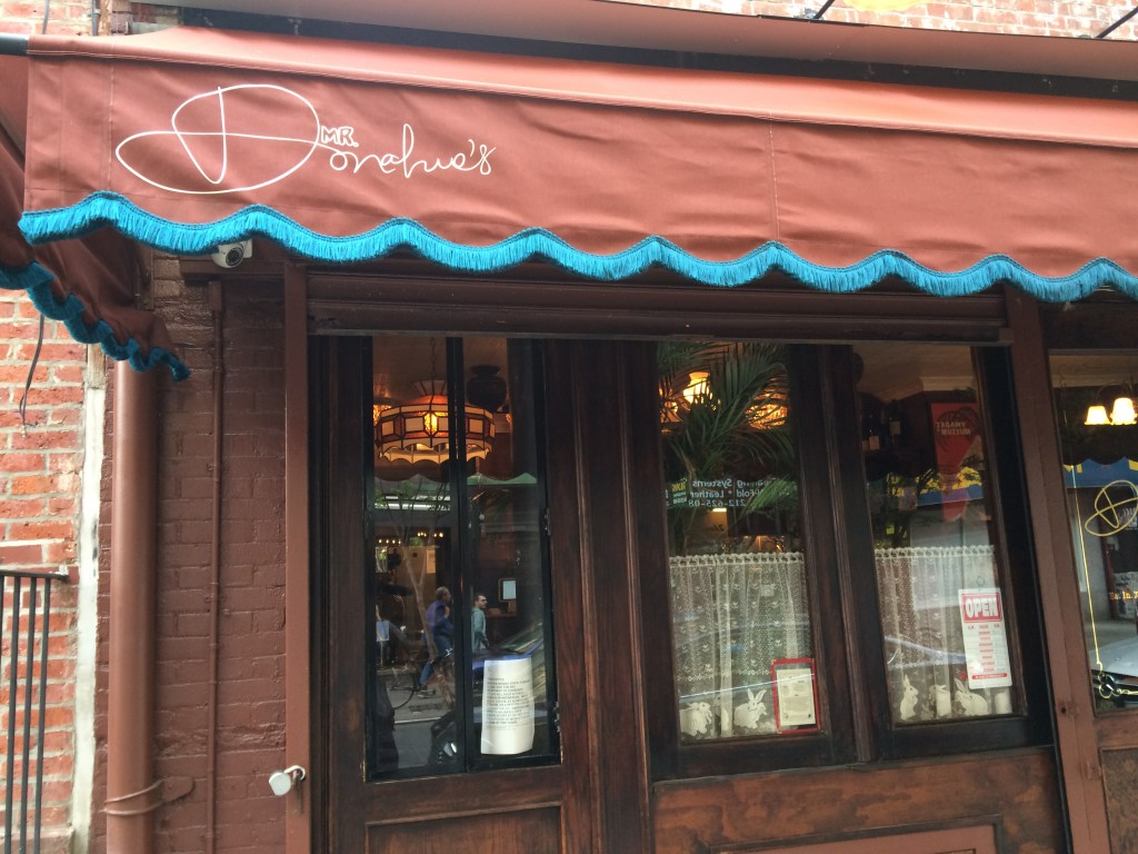 MR. DONAHUE'S, 203 Mott Street (between Kenmare and Spring Street), N