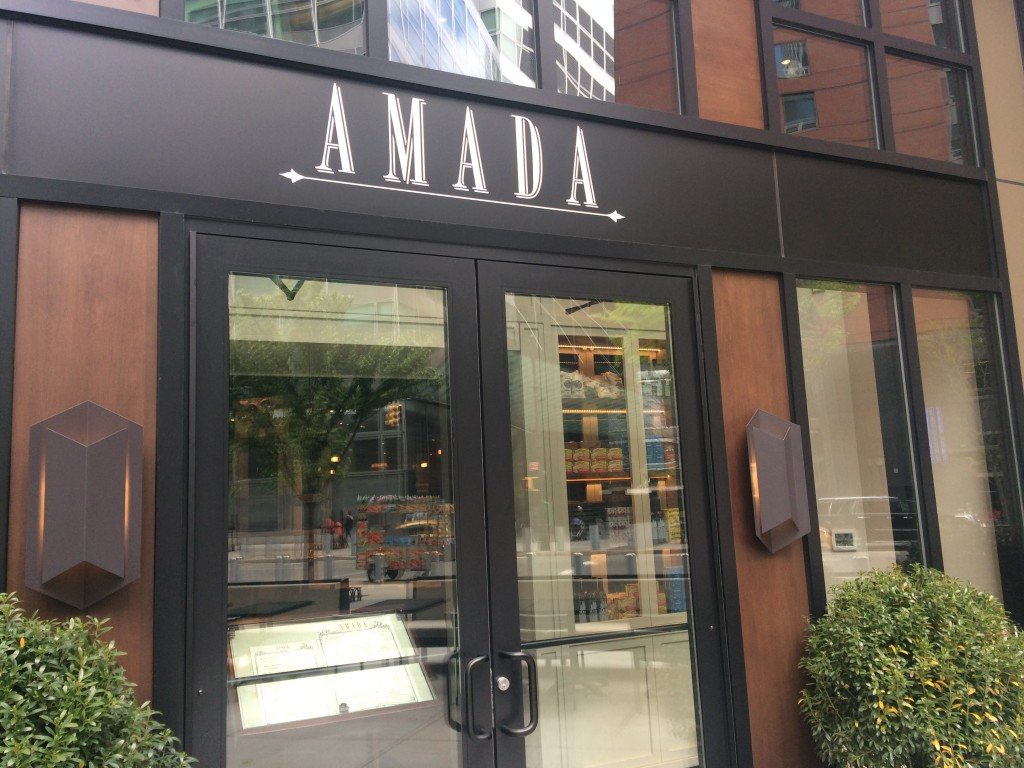 AMADA, 250 Vesey Street (between North End Avenue and West Street), Inside Brookfield Place, Battery Park City