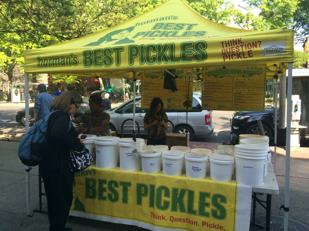 HORMAN'S BEST PICKLES, Sixth Avenue (between Carmine Street and West 3rd Street), West Village