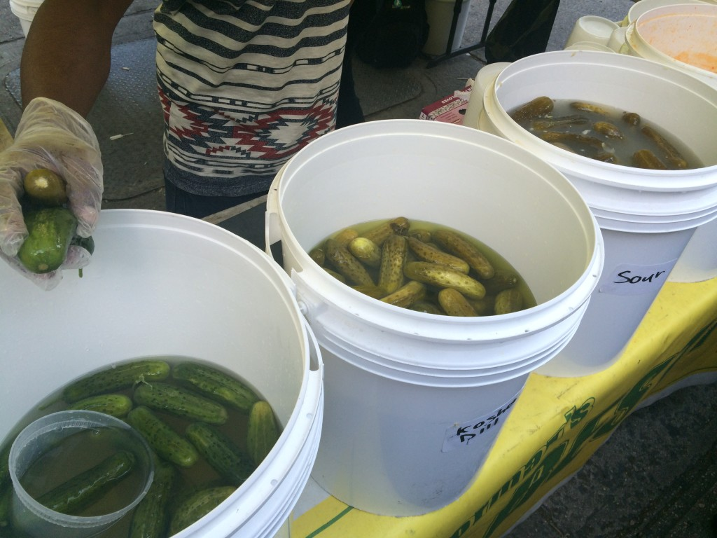 Bobbing for Pickles, Anyone?