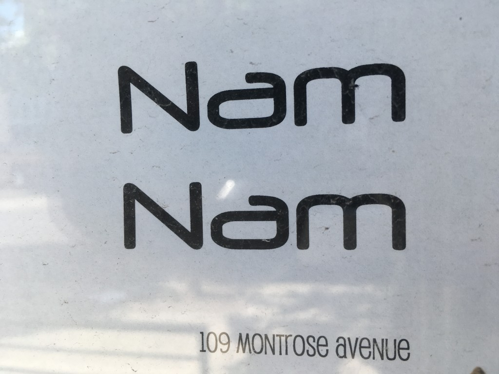 NAM NAM, 109 Montrose Avenue (between Leonard Street and Manhattan Avenue), Williamsburg, Brooklyn