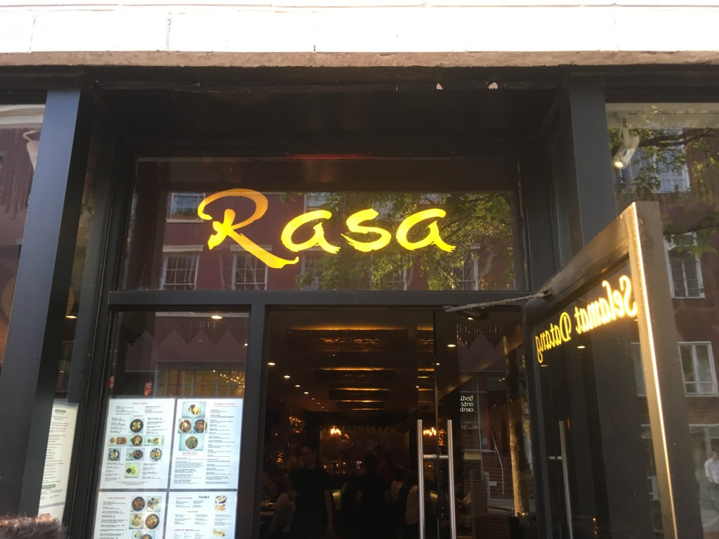 RASA, 25 West 8th Street (between Fifth Avenue and Macdougal Street), Greenwich Village