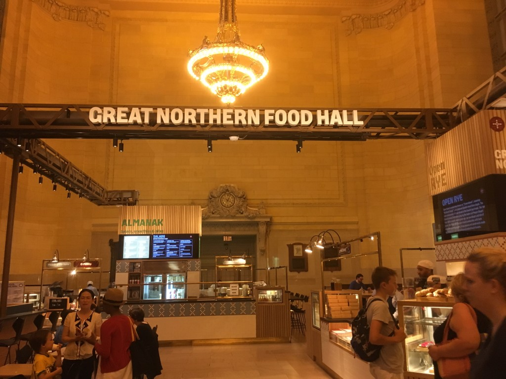 GREAT NORTHERN FOOD HALL, inside Grand Central Terminal, 89 Vanderbilt Avenue (between 42nd and 45th Street), Midtown East