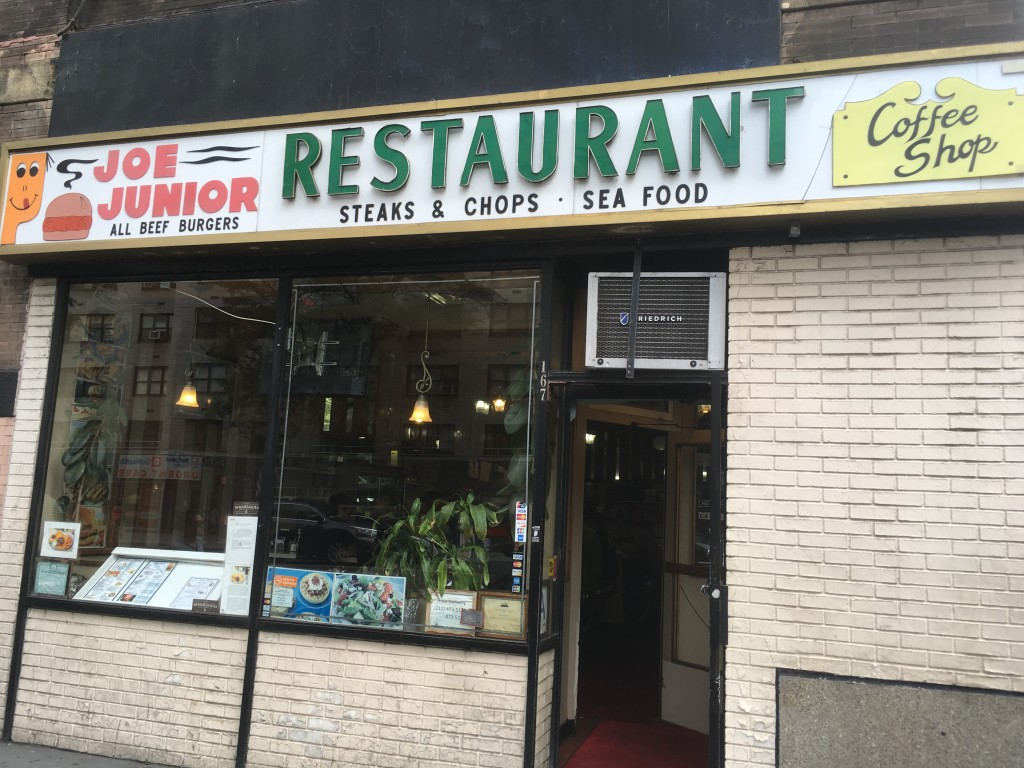 JOE JR. RESTAURANT, 167 Third Avenue (at 16th Street), Gramercy