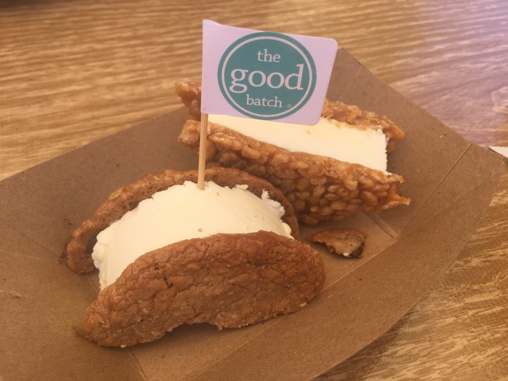 ICE CREAM SANDWICHES from THE GOOD BATCH at THE VENDY AWARDS