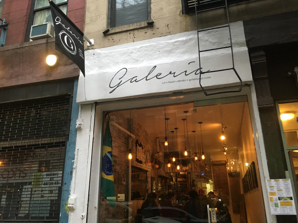 GALERIA, 43 Clinton Street (between Stanton and Rivington Street), Lower East Side