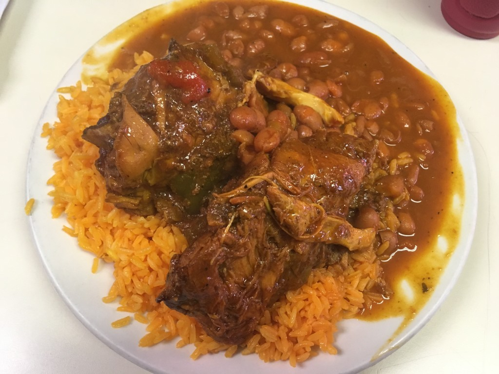 Pollo Guisado at LALI RESTAURANT